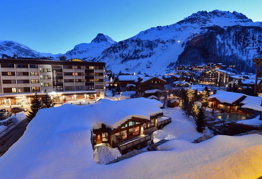 Hotel Le Tsanteleina 4 étoiles à Val d'Isère