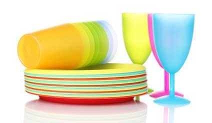 Vaisselle jetable biodégradable